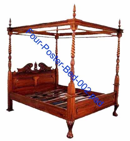 Modern Canopy  Four Poster Beds | AllModern