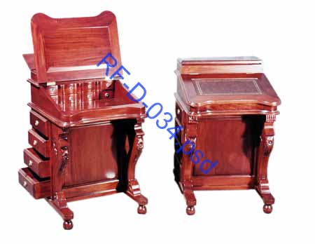 Antique Reproduction Victorian Davenport Furniture